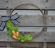 diy 10 minute easter hoop wreath