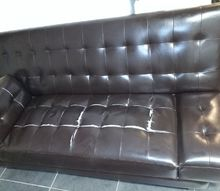 q repair faux leather couch