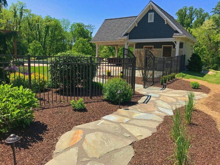 natural stone patio addition hometalk