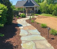 natural stone patio addition
