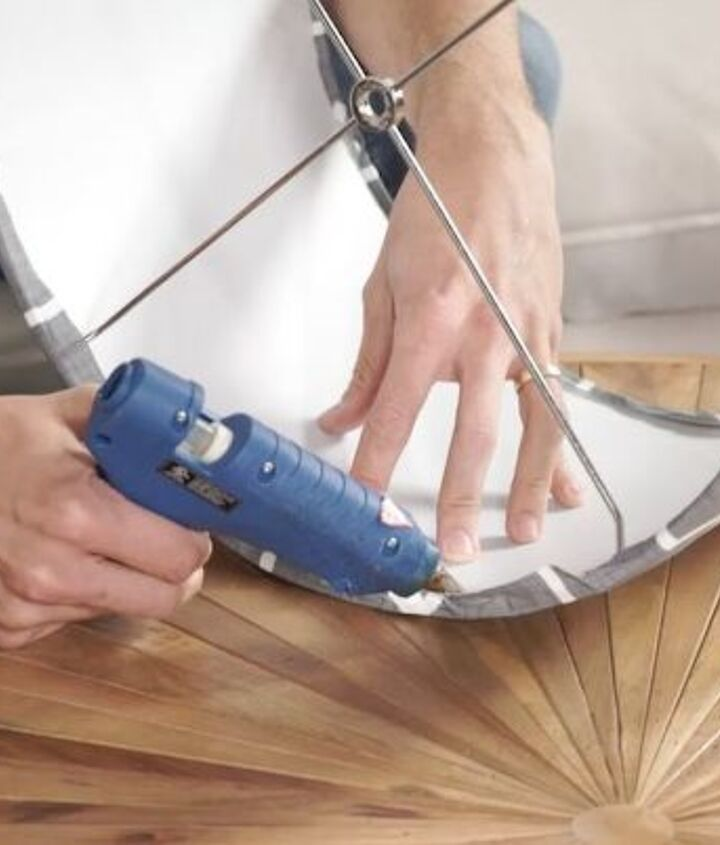 how to make a custom fabric lampshade