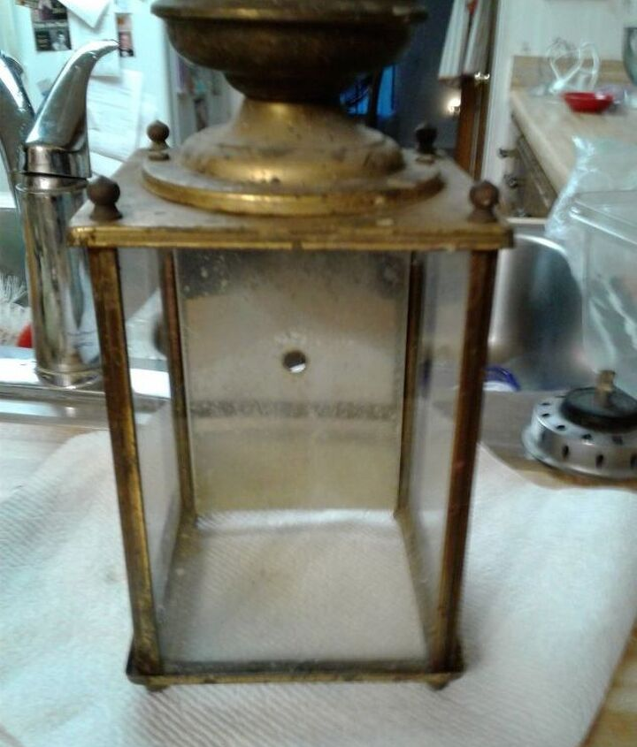 q what can i do with this old porch light