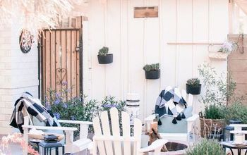 Cheap, Easy Outdoor Backyard Firepit Makeover