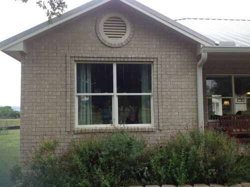 What is the best way to attach exterior window awnings to brick ...