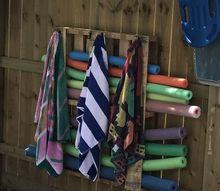 multi use outside rack