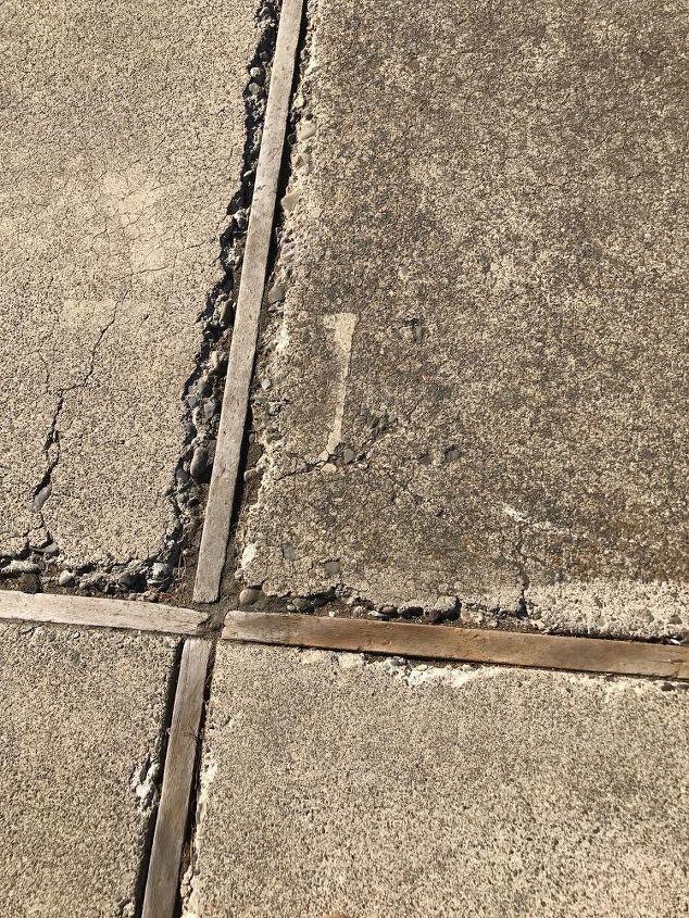 q cracking concrete