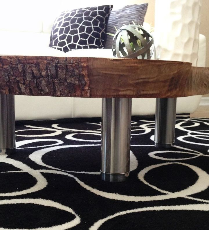 coffee table made out of camphor