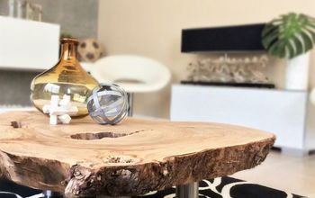 AMAZING CAMPHOR COFFEE TABLE