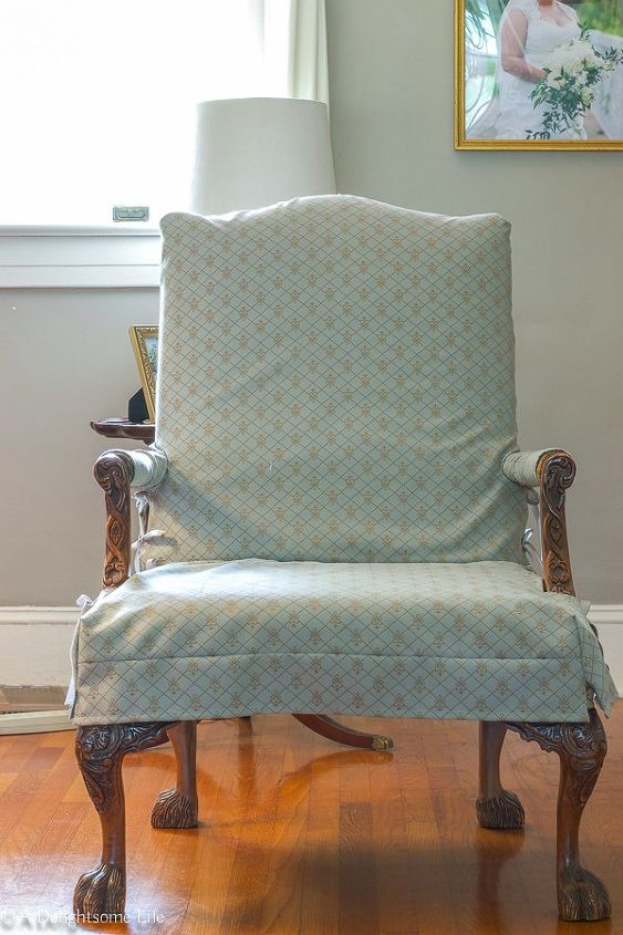 an easy how to paint upholstery fabric