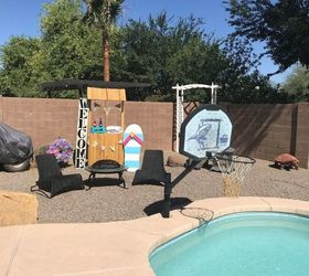 Before After Inexpensive Backyard Makeover Hometalk