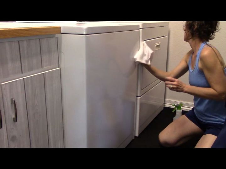 clean your washer dryer