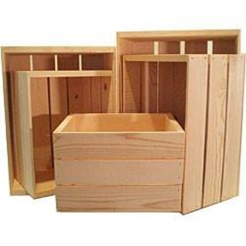 Buy one with each pay check til you have what you need to make into shelving. Paint a color or stain or as is.