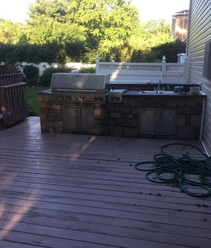 q i want to change my deck from the pressured wood