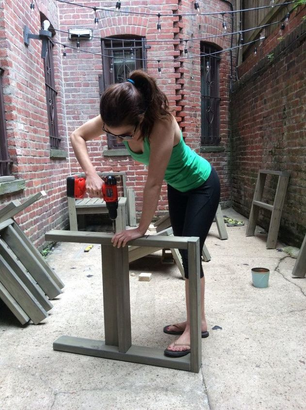 s 20 benches you can build this summer, City Patio