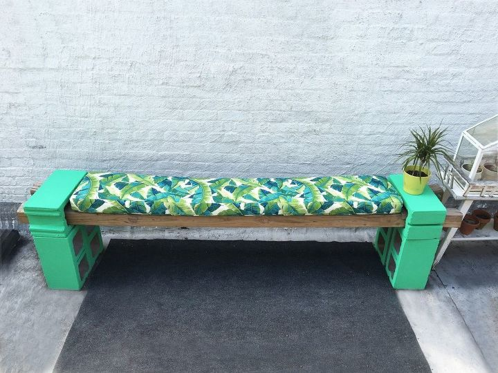 s 20 benches you can build this summer, Go Green