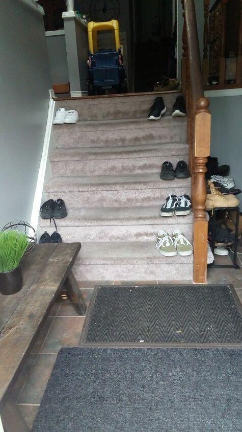 q how do i redo my stairs