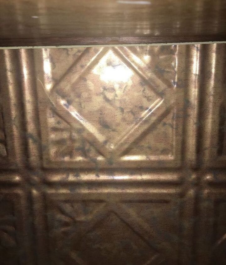 q i m wanting to paint my back splash in my kitchen it is a cooper co