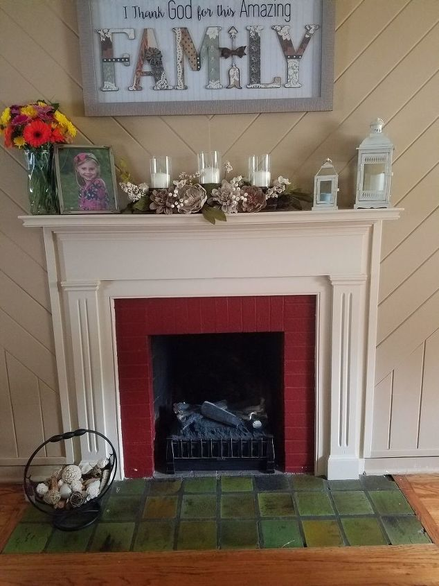 q i m looking to paint the brick on our fireplace