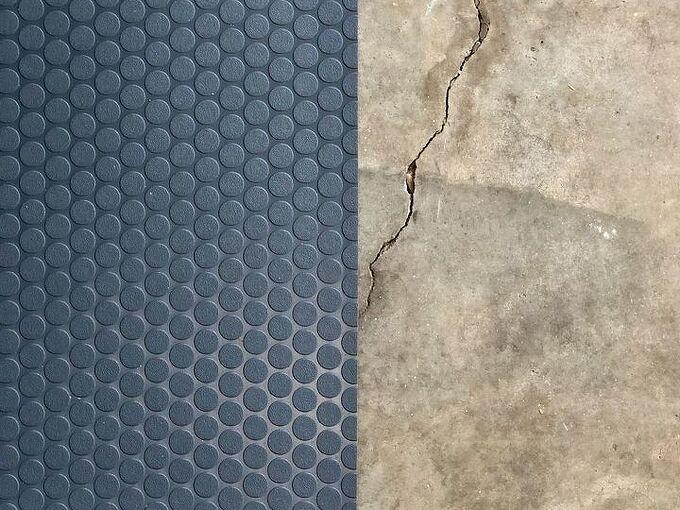 how to install vinyl garage flooring