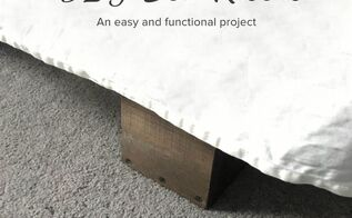 easy diy bed risers