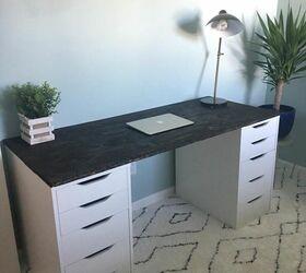 Cheap Live Edge Desk Ikea Hack Hometalk