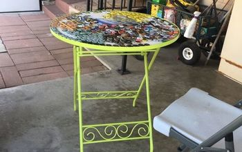 q what kind of resin do you use for an outdoor table and chairs that won