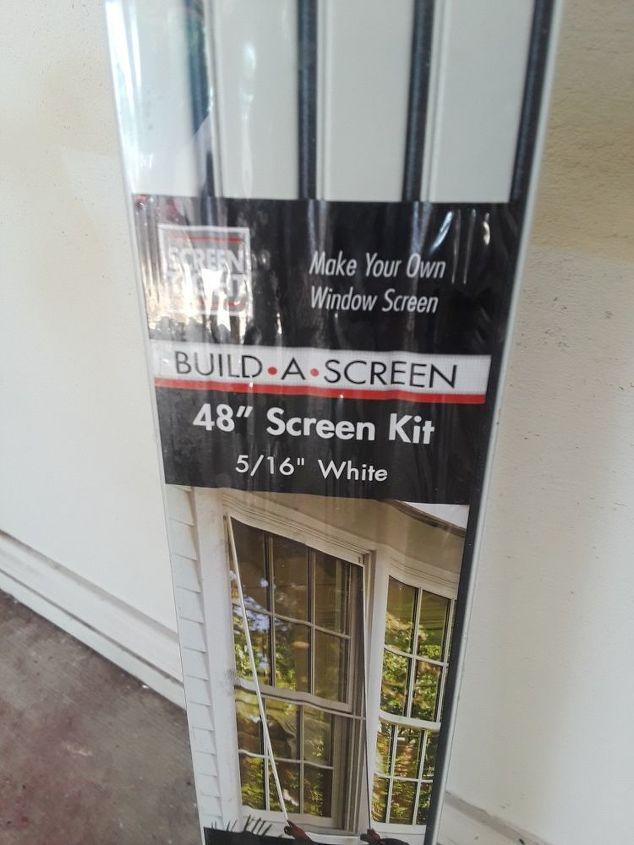 how to make a window screens