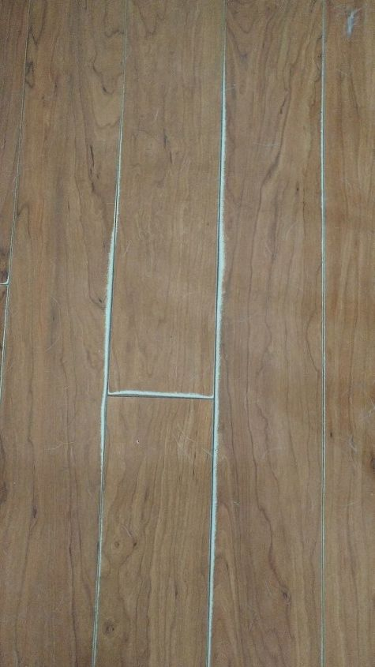 Q Laminated Flooring Worn How Can We Fix