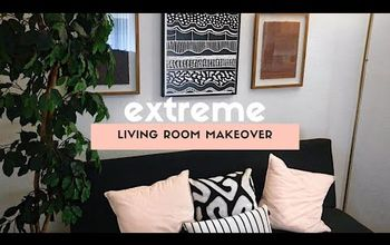 Extreme Living Room Makeover