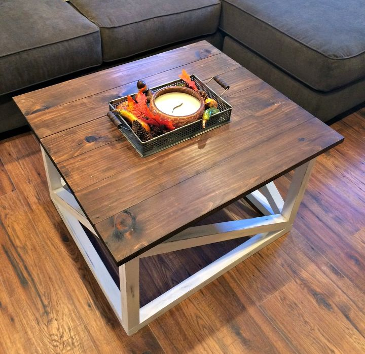 s these coffee table ideas will inspire you to make your own, Simple DIY Coffee Table