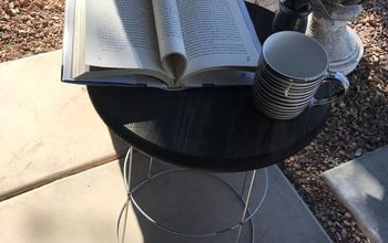 Tomato Cage Side Table