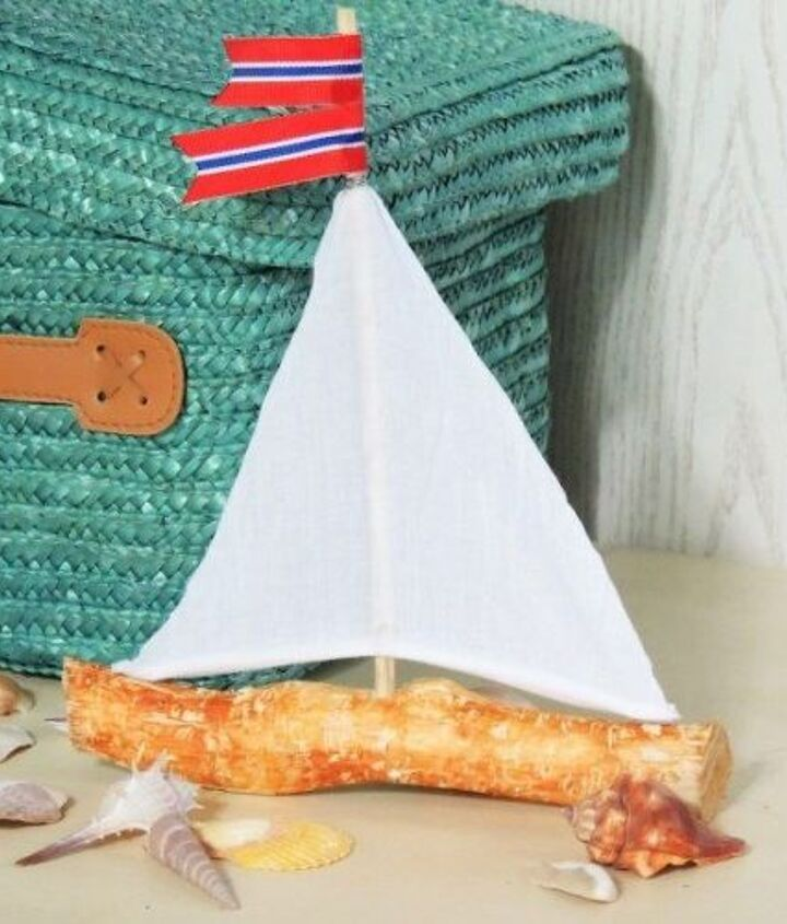 how to build a mini boat from branches