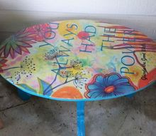 cute little outdoor table