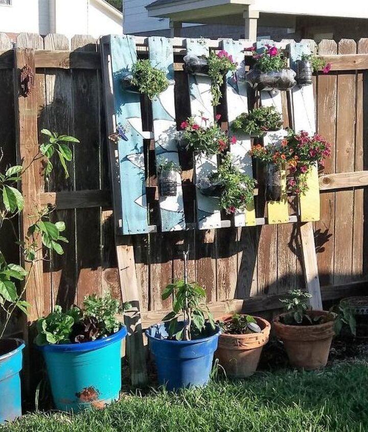 vertical sunshine garden