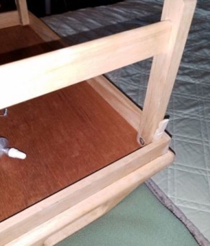 adapting a tray for under the tv