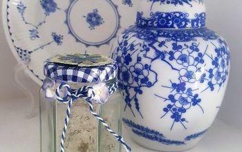 diy decor jar of fairy wishes