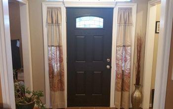 front door pediment and trim