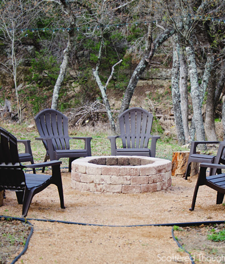 s 15 fabulous fire pits for your backyard, Simple with brick