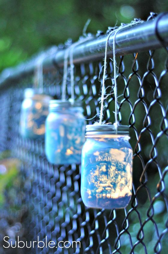 s 14 diy must haves for all camping trips, Mason Jar Lanterns
