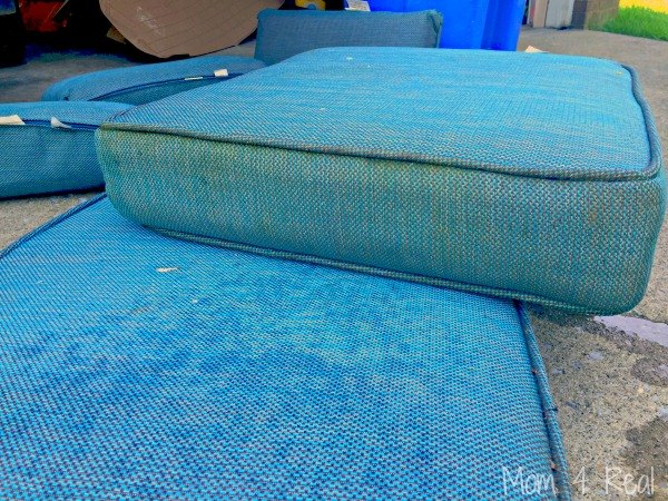 s 14 diy hacks to stay clean while camping, Don t Forget Those Cushions
