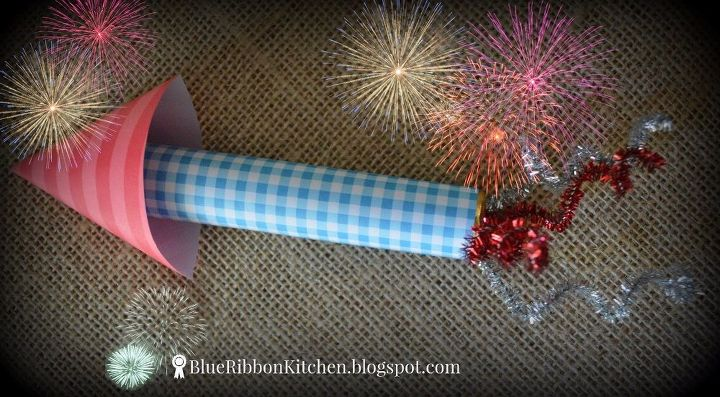 s 18 beautiful crafts for the 4th of july, Firecracker Favors