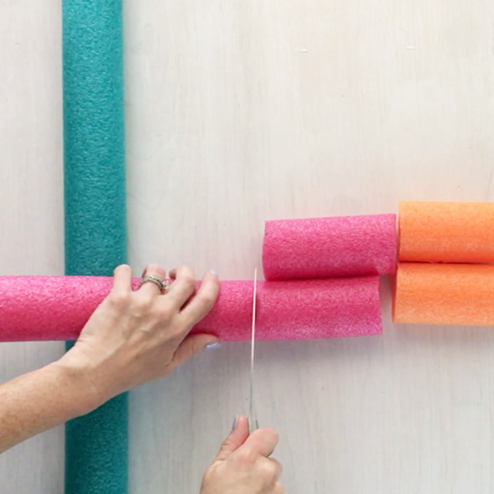 14 clever ways to upcycle dollar store pool noodles for your home