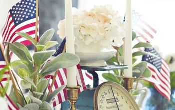 Vintage Chic 4th of July Decor