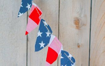 DIY July 4th Patriotic Banner
