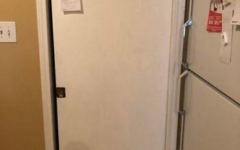 chalkboard pocket door