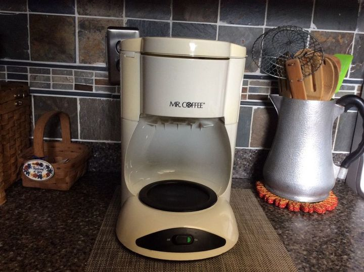q how to upgrade an old mr coffee coffee pot maker