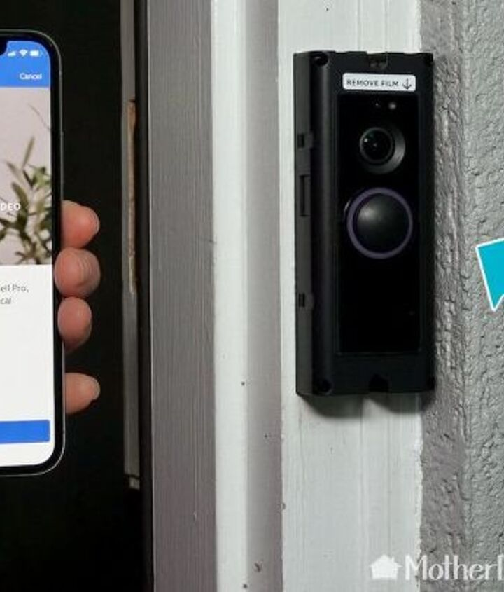 how to install and use a smart home video doorbell