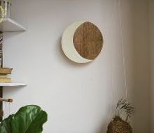 diy crescent moon night light