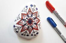 next level rock painting 3 steps to perfect mandalas