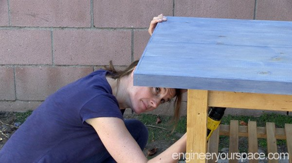old ikea kitchen cart gets a second life